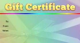 Gift Certificate Template Birthday 01