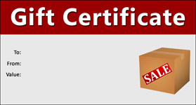 Gift Certificate Template Boxing Day 01