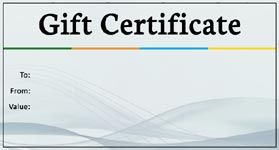 Gift Template - Select a gift certificate template to customize