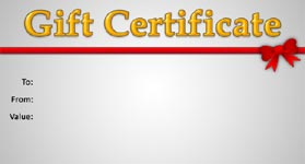 Gift Certificate Template Business 02