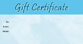 Gift Certificate Template Business 04
