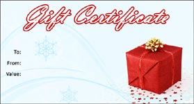Gift Certificate Template Christmas 03