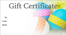 Gift template select a gift certificate template to customize easter template 01 gift certificate template easter 01 negle Choice Image