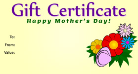 Gift template select a gift certificate template to customize mothers day template 02 gift certificate mothers day 02 yadclub Choice Image